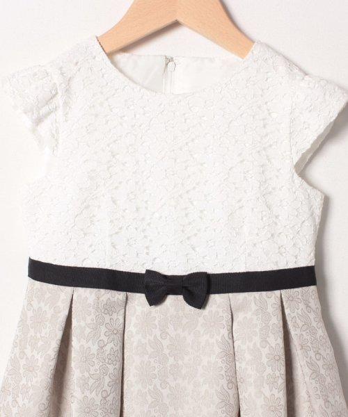 petit main(プティマイン)/ジャガードリボンワンピース+衿つきジャケットセット/9691603_img05