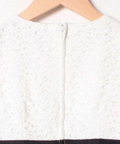 petit main(プティマイン)/ジャガードリボンワンピース+衿つきジャケットセット/9691603_img06
