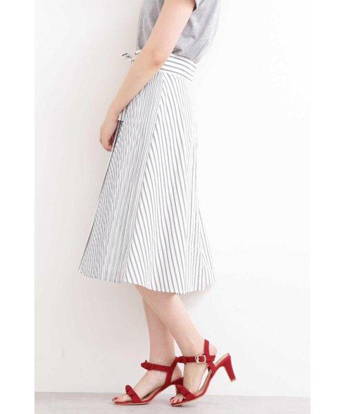 PROPORTION BODY DRESSING(プロポーション ボディドレッシング)/◆フレアーストライプ部分プリーツスカート/1219120204_img05