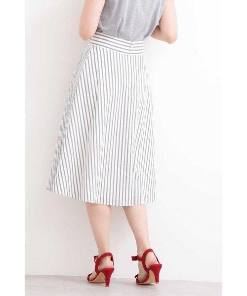 PROPORTION BODY DRESSING(プロポーション ボディドレッシング)/◆フレアーストライプ部分プリーツスカート/1219120204_img06
