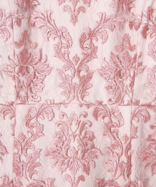 GRACE CONTINENTAL(グレースコンチネンタル)/刺繍マーメイドワンピース/19135007_img06