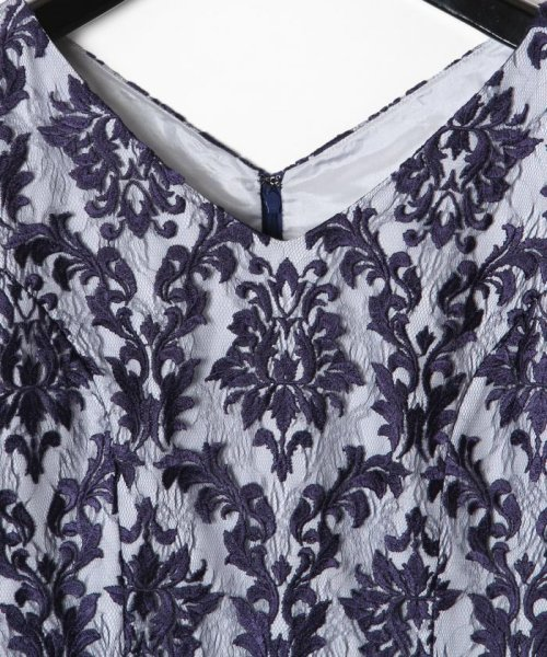 GRACE CONTINENTAL(グレースコンチネンタル)/刺繍マーメイドワンピース/19135007_img08