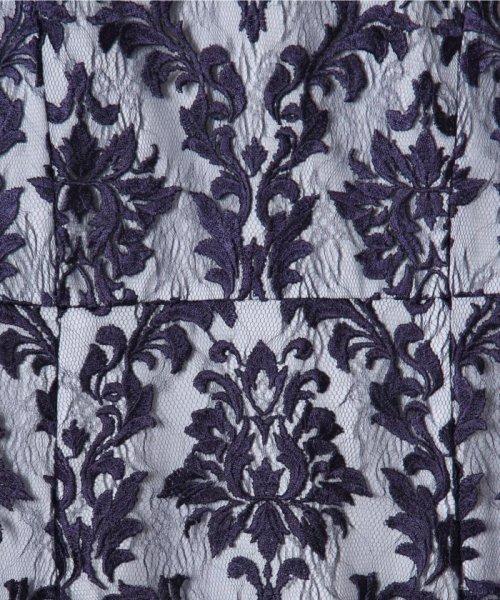 GRACE CONTINENTAL(グレースコンチネンタル)/刺繍マーメイドワンピース/19135007_img10