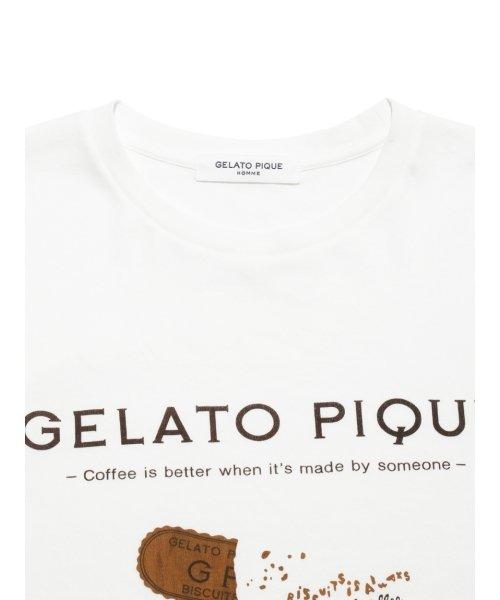 GELATO PIQUE HOMME(GELATO PIQUE HOMME)/【GELATOPIQUEHOMME】ビスケットTシャツ/PMCT191936_img03