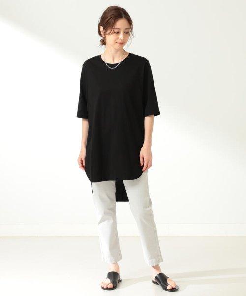 Demi-Luxe BEAMS(デミルクスビームス)/ATON / スビン ラウンドヘム Tシャツ/64040198967_img10