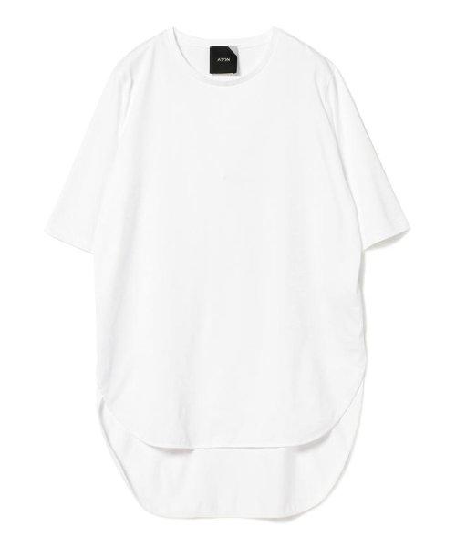 Demi-Luxe BEAMS(デミルクスビームス)/ATON / スビン ラウンドヘム Tシャツ/64040198967_img12