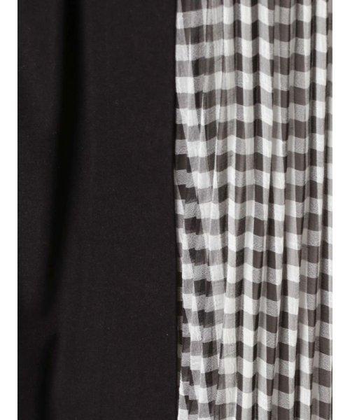 MERCURYDUO(マーキュリーデュオ)/プリーツ切替ラップ風スカート/001910802501_img10