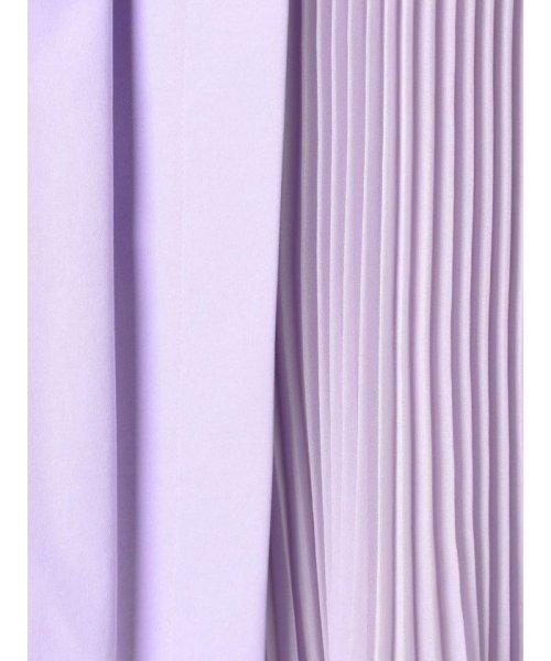 MERCURYDUO(マーキュリーデュオ)/プリーツ切替ラップ風スカート/001910802501_img11