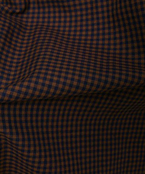collex(collex)/ストライプギンガムギャザースカート/60380612000_img10
