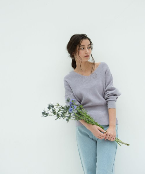 marjour(マージュール)/WINTER PASTEL KNIT/750119_img06