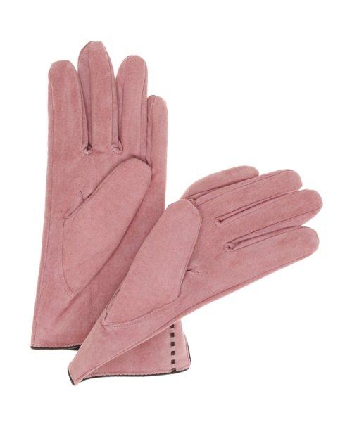 TAKA-Q(タカキュー)/ステッチ入りスウェード手袋/120452223450825_img01