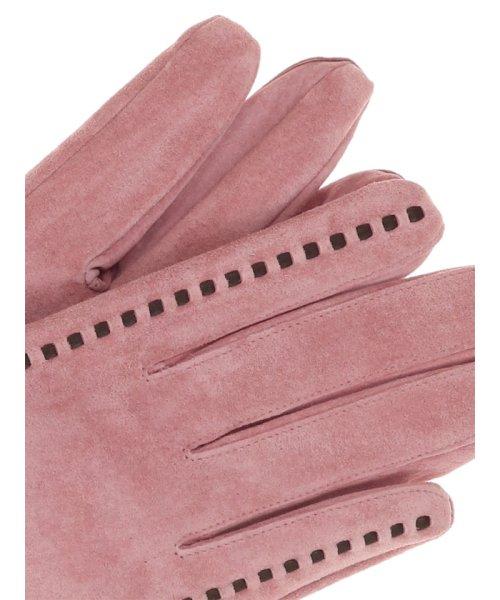 TAKA-Q(タカキュー)/ステッチ入りスウェード手袋/120452223450825_img02