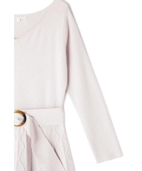 PROPORTION BODY DRESSING(プロポーション ボディドレッシング)/ケーブルクロスフレアーワンピース/1219140103_img05
