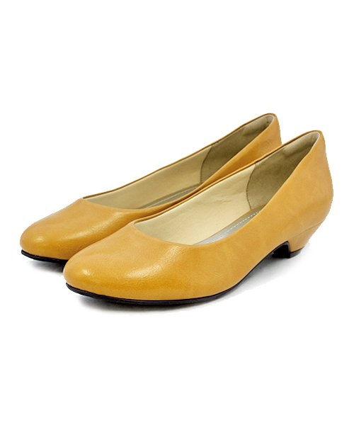 ALETTA(ALETTA)/やっと出会えた究極のプレーンローヒールパンプス【3.5cmヒール/ラウンドトゥ】 外反母趾ぎみ甲高幅広対応 立仕事 靴  痛くないパンプス 小さい 大きいサイズ/274002731b_img09