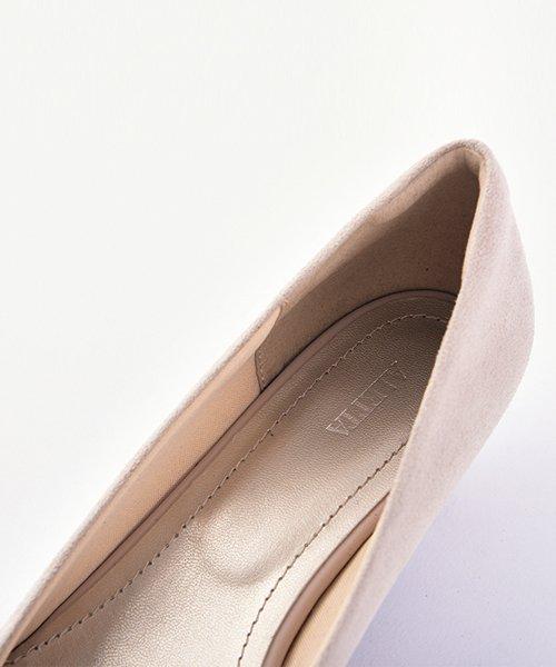 ALETTA(ALETTA)/やっと出会えた究極のプレーンローヒールパンプス【3.5cmヒール/ラウンドトゥ】 外反母趾ぎみ甲高幅広対応 立仕事 靴  痛くないパンプス 小さい 大きいサイズ/274002731b_img13
