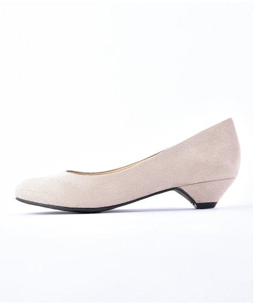 ALETTA(ALETTA)/やっと出会えた究極のプレーンローヒールパンプス【3.5cmヒール/ラウンドトゥ】 外反母趾ぎみ甲高幅広対応 立仕事 靴  痛くないパンプス 小さい 大きいサイズ/274002731b_img15