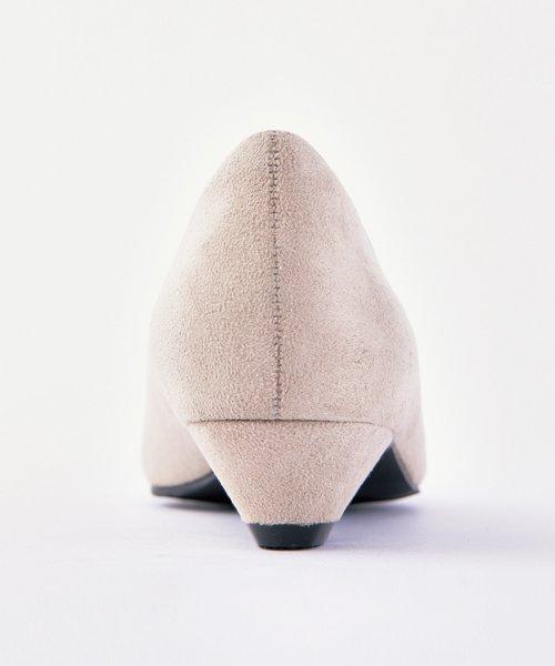 ALETTA(ALETTA)/やっと出会えた究極のプレーンローヒールパンプス【3.5cmヒール/ラウンドトゥ】 外反母趾ぎみ甲高幅広対応 立仕事 靴  痛くないパンプス 小さい 大きいサイズ/274002731b_img16