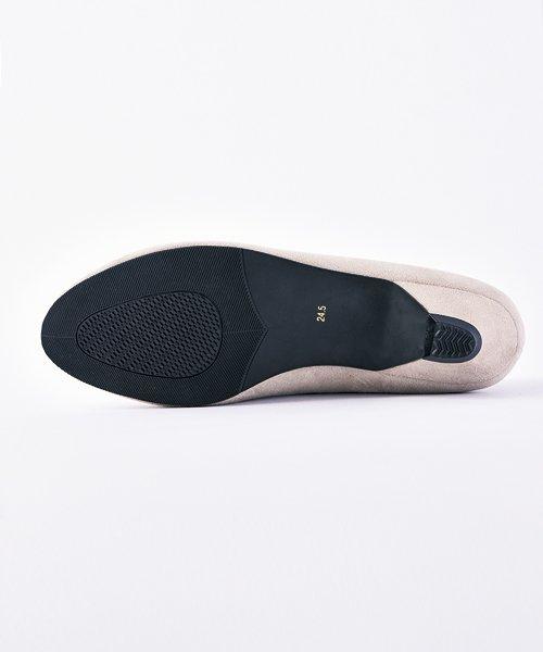 ALETTA(ALETTA)/やっと出会えた究極のプレーンローヒールパンプス【3.5cmヒール/ラウンドトゥ】 外反母趾ぎみ甲高幅広対応 立仕事 靴  痛くないパンプス 小さい 大きいサイズ/274002731b_img17