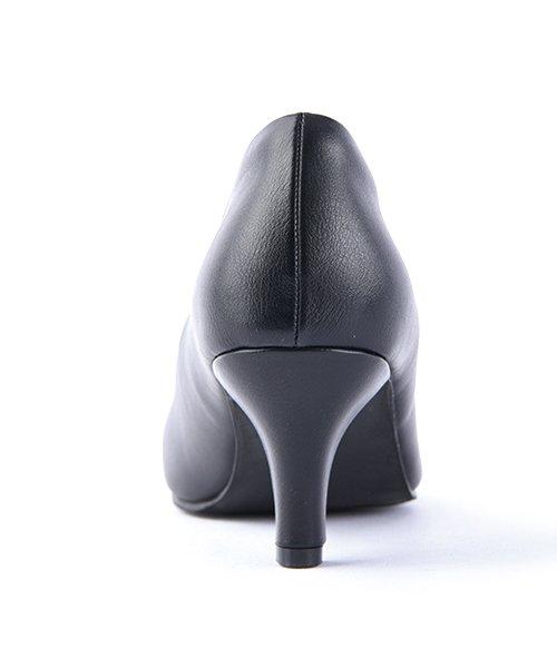 ALETTA(ALETTA)/やっと出会えた究極のプレーンパンプス【 6.5cmヒール/ラウンドトゥ】 外反母趾ぎみ甲高幅広の悩み解決 立仕事 靴 痛くないパンプス 小さい 大きいサイズ/274006531b_img18