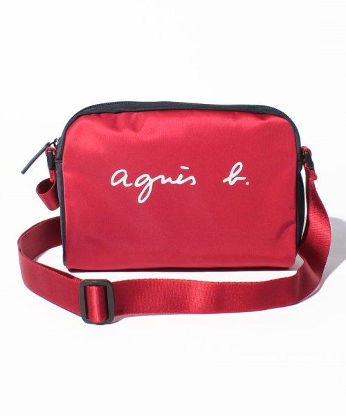 agnes b. Voyage(アニエスベー ボヤージュ)/MP01A-02 ロゴサコッシュ/N318VN01E19_img07
