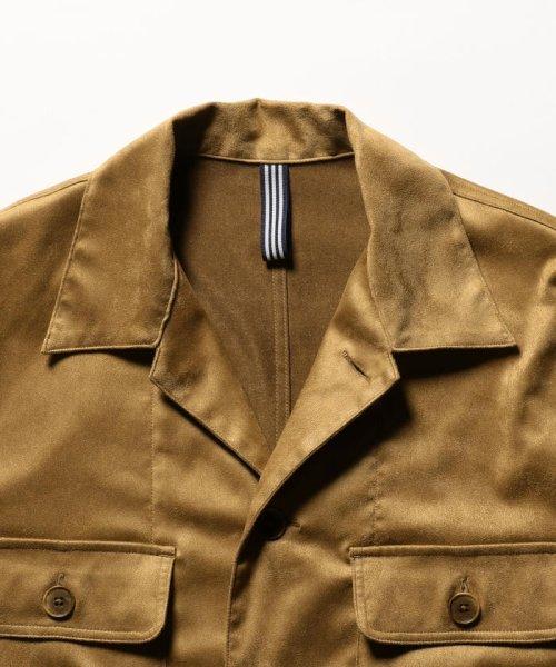 NOLLEY'S goodman(ノーリーズグッドマン)/フェイクスエードシャツ/9-0086-1-71-005_img02