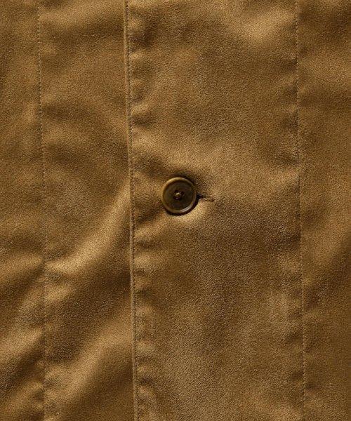 NOLLEY'S goodman(ノーリーズグッドマン)/フェイクスエードシャツ/9-0086-1-71-005_img06