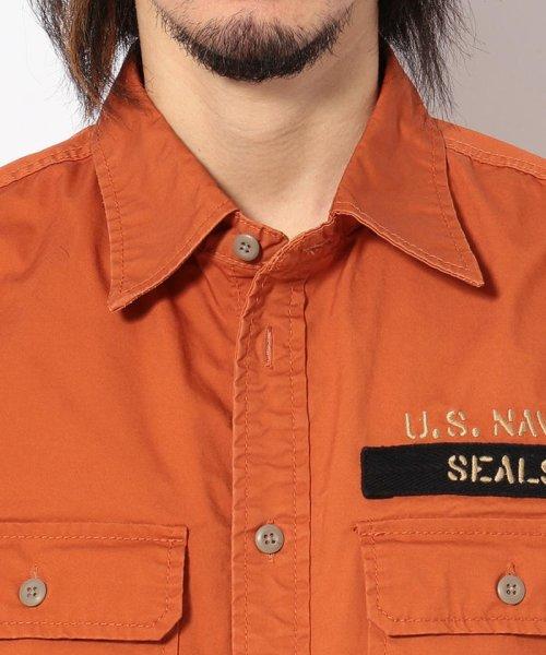 AVIREX(アヴィレックス)/シールズ BDU シャツ/U.S.NAVY SEALs BDU SHIRT/6195094-50_img06