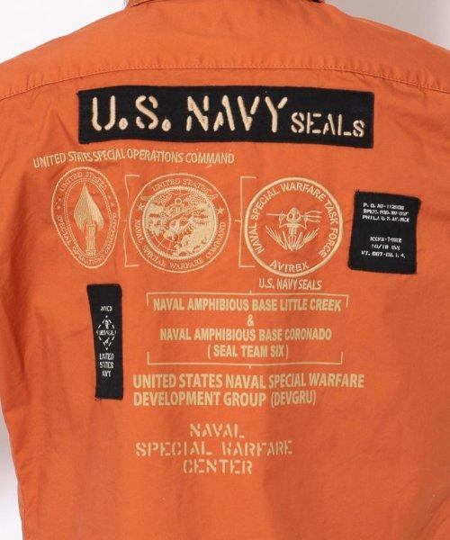 AVIREX(アヴィレックス)/シールズ BDU シャツ/U.S.NAVY SEALs BDU SHIRT/6195094-50_img07