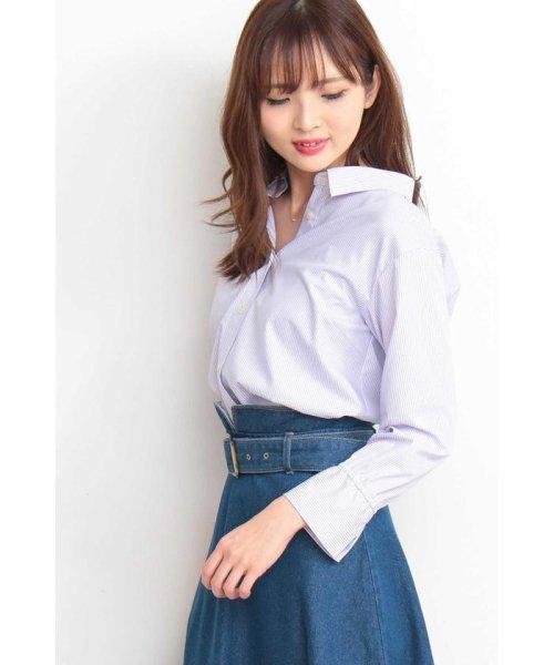 PROPORTION BODY DRESSING(プロポーション ボディドレッシング)/ストライプシャツ/1219110900_img03