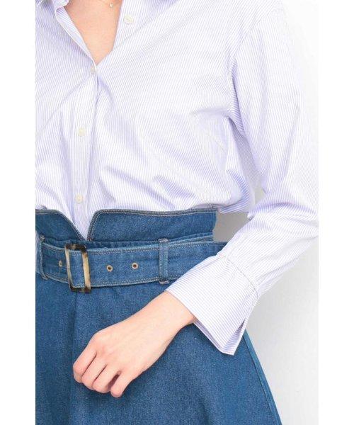 PROPORTION BODY DRESSING(プロポーション ボディドレッシング)/ストライプシャツ/1219110900_img06