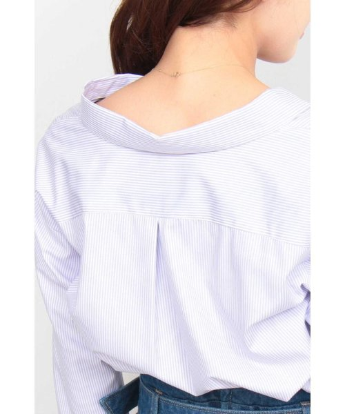 PROPORTION BODY DRESSING(プロポーション ボディドレッシング)/ストライプシャツ/1219110900_img07
