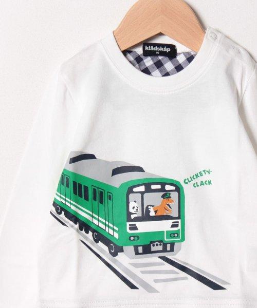 kladskap(クレードスコープ)/電車長袖Tシャツ/5391210_img02