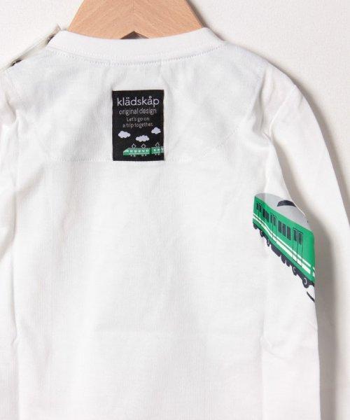 kladskap(クレードスコープ)/電車長袖Tシャツ/5391210_img03