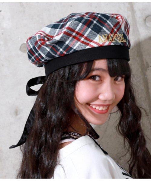 ANAP GiRL(アナップガール)/後ろリボンベレー帽/2009300004_img05