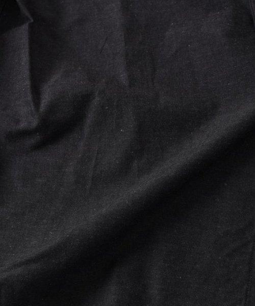 SHIPS MEN(シップス メン)/SC: コットン/リネン イージーケア加工 バンドカラー シャツ/111100308_img20