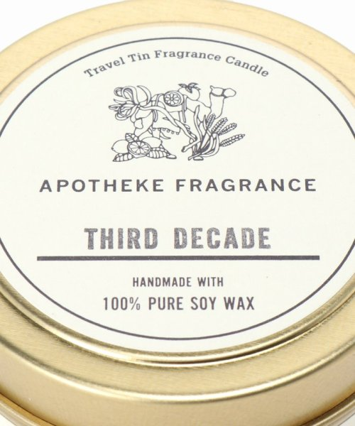 SAVE KHAKI(セイブカーキ)/APOTHEKE FRAGRANCE TIN CANDLE/19090612001410_img03