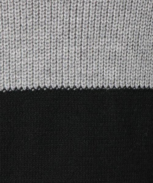 Eimy Peal by POWDER SUGAR(エイミーパール バイ パウダーシュガー)/配色タートルネックニットワンピース/2T68522_img05