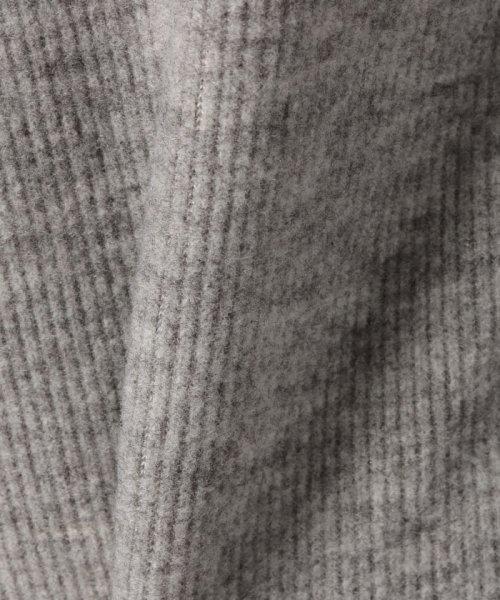 Eimy Peal by POWDER SUGAR(エイミーパール バイ パウダーシュガー)/リブニット袖ファー/3821802BL1001_img13