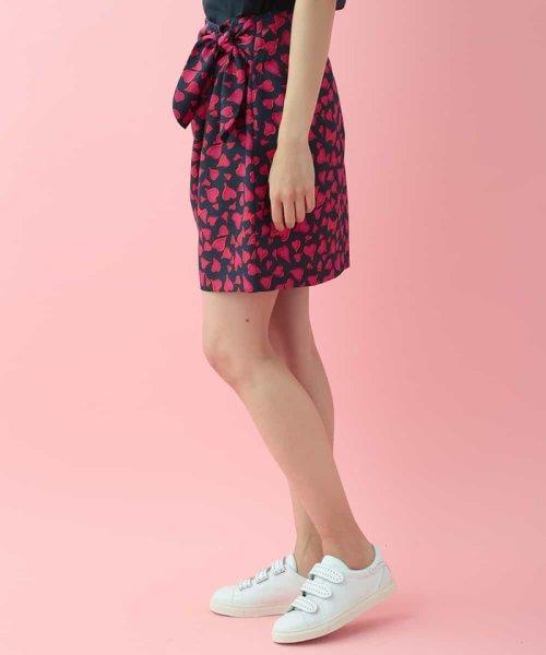 Tara Jarmon(タラ ジャーモン)/プリントラップデザインミニスカート IMPORTED/VZHDG10390_img04