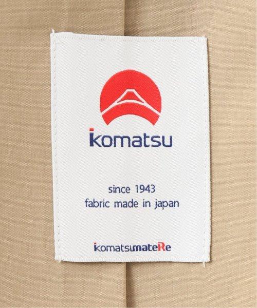 EDIFICE(エディフィス)/KOMATSU STRETCH ステンカラーコート/19020300200110_img39