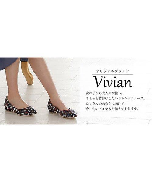 Vivian(ヴィヴィアン)/シンプルプレーンフラットパンプス/V1000SPI_img23