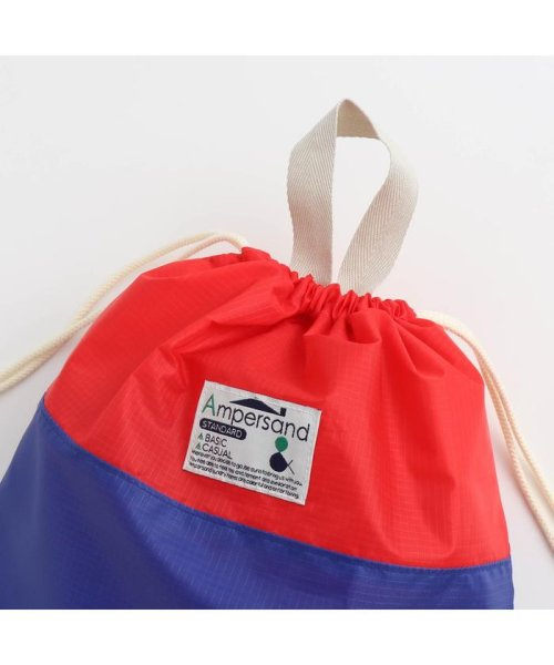 ampersand / F.O.KIDS MART(アンパサンド/エフオーキッズマート)/巾着(L)/L174019_img02