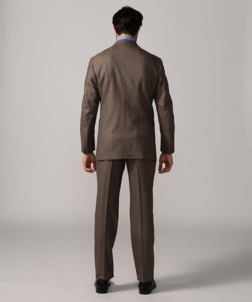TOMORROWLAND MENS(TOMORROWLAND MENS)/Super170'sウール グレンチェック 段返り3Bスーツ MADE IN JAPAN/61069106131_img05