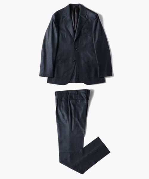 TOMORROWLAND MENS(TOMORROWLAND MENS)/Super170'sウール グレンチェック 段返り3Bスーツ MADE IN JAPAN/61069106131_img20