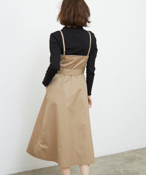 ROPE' PICNIC(ロペピクニック)/トレンチジャンパースカート/GDE19180_img02