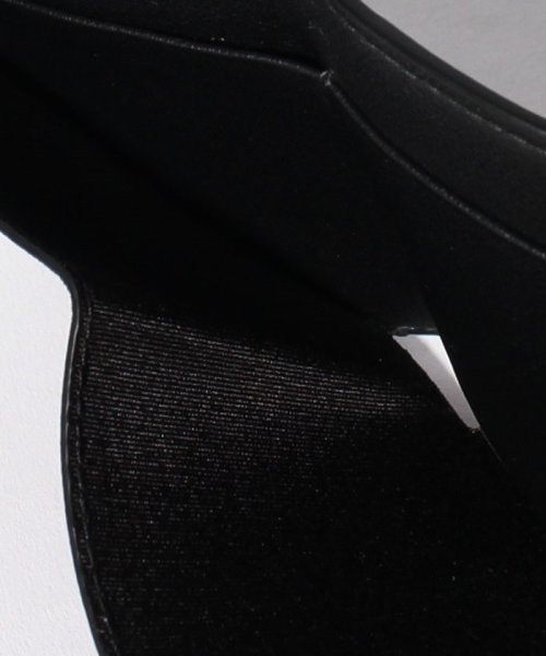 Valentino Garavani(ヴァレンティノ ガラヴァーニ)/【VALENTINO GARAVANI】3つ折りミニ財布/ロックスタッズ【BLACK LIGHT IVORY】/QW1P0Q47QQDL60_img04