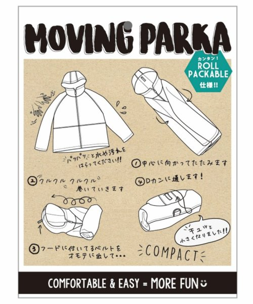 DOUBLE NAME(ダブルネーム)/MOVING ROLLパーカー/291515040_img14