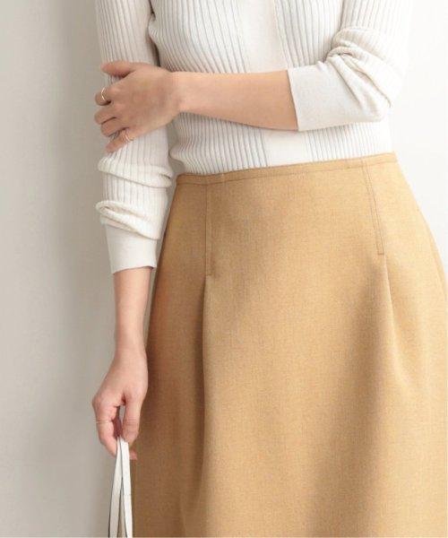 IENA(イエナ)/TAボンディングタックトラペーズスカート◆/19060900594010_img43