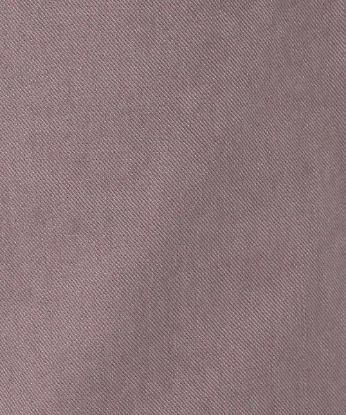 MACPHEE(MACPHEE)/コットンカラーデニム セミワイドパンツ/12049104003_img14