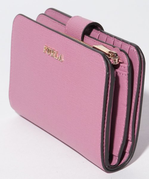 FURLA(フルラ)/【FURLA】FURLA フルラ 二つ折り財布 BABYLON M ZIP AROUND BABYLON PR85 AZALEA f/992614_img01